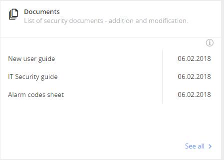 GDPR documents